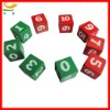 Travel Custom dice game set With number