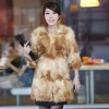 top grade fox fur coats / women winter coat wholesale