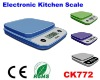 High precision ABS plastic electronic kitchen scale