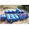 inflatable buoys in cube cylinder tube pyramid triangular shape for water triathlons advertising