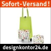 folding wheeled shopping bag (M)