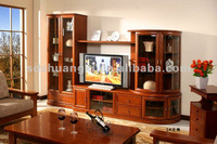 2012 hot environmental friendly wooden fashion TV tables