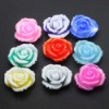 Resin wholesale flower cabochon mix color rose
