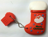 christmas stocking shape USB flash drive
