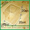 Acrylic box,acrylic donation box