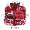 Luxury Cranberry spa Bath Gift Set