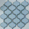 Edged Sky Blue Big Lantern Ceramic Mosaic Design CZG616A