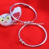 2012 hot selling baby bangle bracelet in pure silver 990