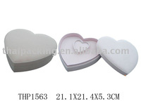 THP1563, heart shape jewelry box