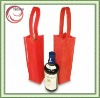 two bottle bag with recycled non woven material