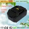 18v 3ah makita li ion battery for drill BL1830 BL1835 LXT400