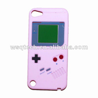 New arrival silicon case for ipod touch 5, Game boy case for apple ipod touch 5