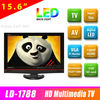 Super Slim 15.6 inch mini led tv with multimedia player