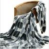 Printed Coral Blanket Sofa Throws