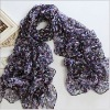 wholesale fashion autumn chiffon broken beautiful scarf