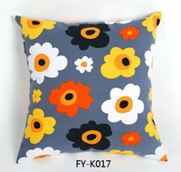 sofa decorated 100% cotton cushion cover