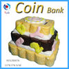 Taper ceramic money boxes,donation money boxes