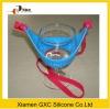 2012 colorfull silicone wine glass holder