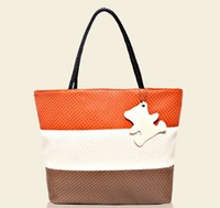 The newest candy color Straw Bag Tote bag Shopping Bag