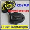 Exclusive Bone Conduction 2000m Wireless Bluetooth Interphone