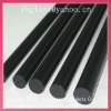 transparent quartz glass rod