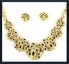 modern jewelry lead and nickel safe alloy fashion jewelry sets costume african jewelry sets