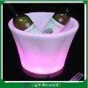 illuminated rechargeable led ice bucket,bar beer bucket