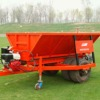 Trailer roller sand screening machine