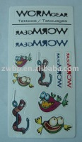 Fashion water transfer tattoo sticker