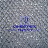Nylon Silver Organza Metallic Mesh Fabric*