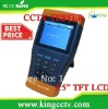 "3.5"" TFT LCD cctv test monitor ptz tester HK-TM803 Lithium Ion Polymer Battery 12 hours working time DC12V1A ouput Audio testing"
