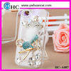 2012 latest fox bling crystal cell phone case