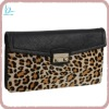 Luxury leopard printing stylish clutches bag