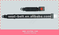 Simple two point safety belt with press buckle