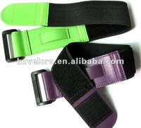 self-gripping velcro and elastic arm band