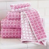 Cotton terry jacquard woven bath towel