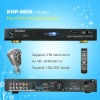 Hard drive karaoke player ,Support VOB/DAT/AVI/MPG/CDG/MP3+G songs ,Multilingual MENU ,Insert COIN