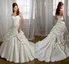 Noble Sweetheart floor-longth Lace White Wedding Dress