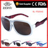 [Wenzhou Factory]2013 men women polycarbonate fashion wine sunglasses with stripe frame to discount wholesale