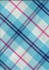 100% cotton check yarn dyed vichy fabric