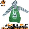 T shirt and Brace Skirt Apparel Fashion HSC110354