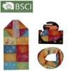 colored polyester seamless tube bandana