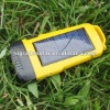 emergency led torch with super solar panel and rechargeable battery