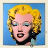 Blue Marlyn Monroe, Hot 100% Handmade POP oil Painting Canvas Reproduction of Andy Warhol