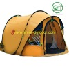 4 person automatic pop up tent with double skin for camping