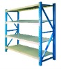 Heavy-duty warehouse shelf