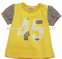 Kid garment t shirt