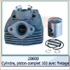 PGT Cylindre,pistom complet 103 spx for Motorcycle parts