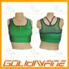 Fitness tank top with built-in bra