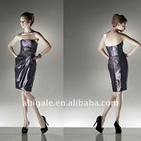 Strapless Short Taffeta Christmas Party Dress(NS20798)
